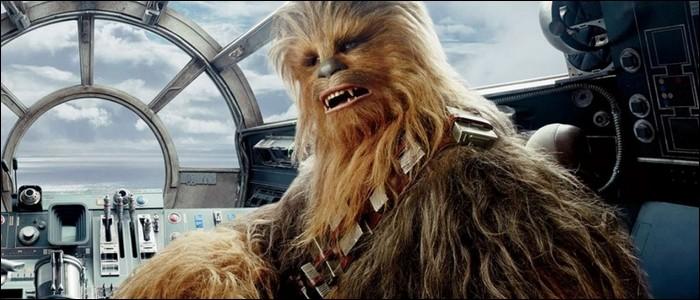 """Dans """"Star Wars"""", quelle est la race de Chewbacca ?"""
