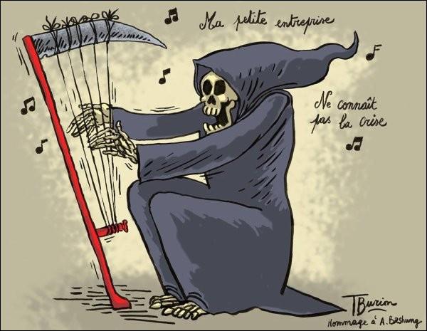 Avril : Pas de mort ! Une chanson sur la mort !Qui chantait ces paroles ?''Mourons pour des idées, d'accord, mais de mort lenteD'accord, mais de mort lente''