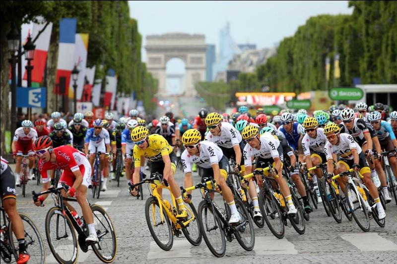 Combien de fois le Tour de France a-t-il été remporté par un cycliste français au XXe siècle ?