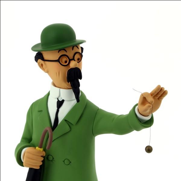 """Dans """"Les Aventures de Tintin"""", quel est le prénom du professeur Tournesol ?"""