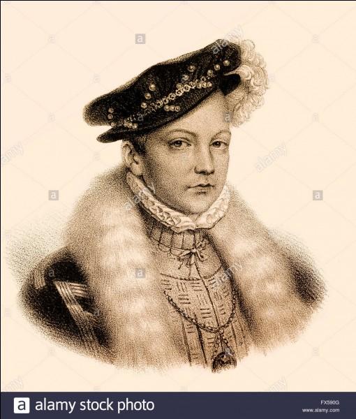 La Reine d'Écosse Marie Stuart fut l'épouse d'un roi de France ; de qui s'agit-il ?