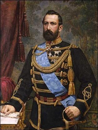 Charles XV est roi du Danemark de 1859 - 1872.