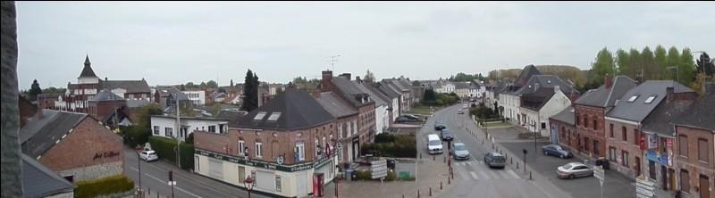 Cette commune de l'Avesnois, près d'Aulnoye-Aymeries dans le département du Nord, c'est ..