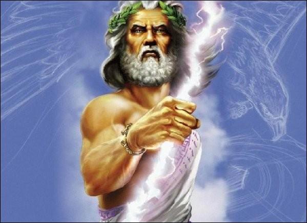 Zeus est le dieu...