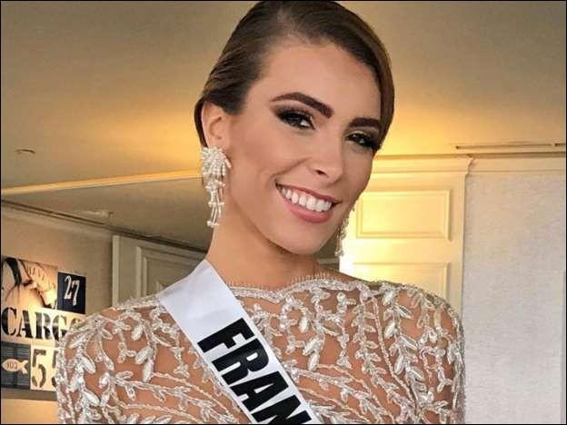 Première dauphine Miss France 2018Election Miss Univers : Bangkok (Thaïlande)Lauréate : Catriona Gray (Philippines)