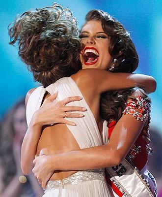 Les frenchies à l'élection de Miss Univers