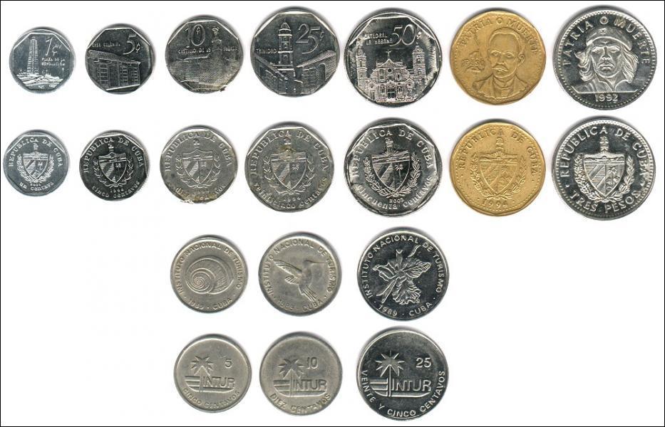Quelle est la monnaie utilisée sur l'île de Cuba ?