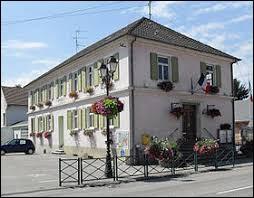 Ancienne commune Haut-Rhinoise, Grentzingen se situe en région ...