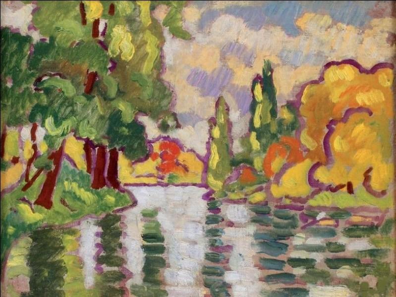 """Qui est l'artiste du """"Lac au Bois de Boulogne"""" ?"""