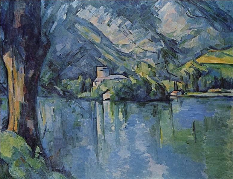 Qui a représenté le lac d'Annecy ?