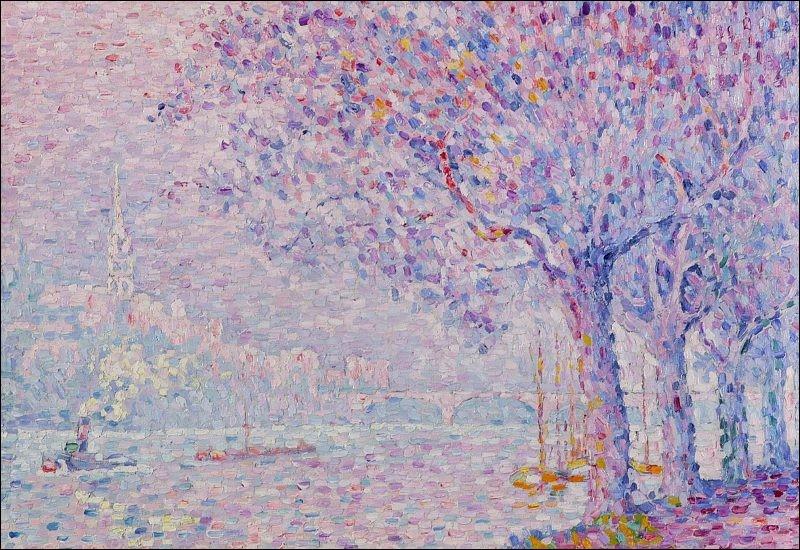 "Qui a peint ""Lac Lugano à Saint-Cloud"" ?"