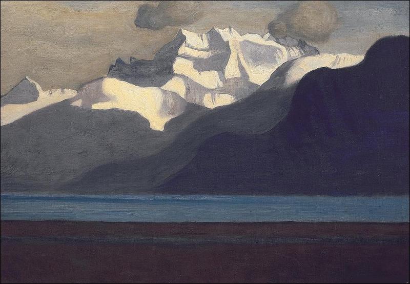 """Qui a peint """"Le Lac Léman"""" ?"""