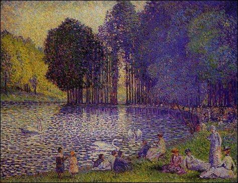 À quel artiste appartient ce lac ?