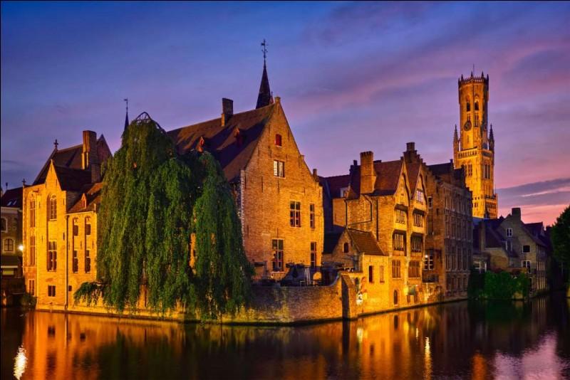 L'emblématique canal du quai Rozenhoed et la tour du Beffroi sont parmi les bons endroits de promenade la nuit. Il y a aussi la place du marché, le lac de l'amour : on peut déambuler le long des canaux et des ponts, quand la plupart des touristes sont déjà couchés et s'arrêter aux bons restaurants ou aux bars et lieux de danse.Quel nom donne-t-on à cette belle cité médiévale, la Venise du Nord ?