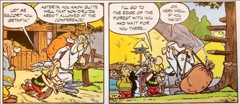 Même si ce héros de la BD n'est pas le maître d'Idéfix, on est certain que ce personnage est très proche du petit chien d'Obélix. En effet, il ne peut être qu'heureux de certaines de ses actions… écologistes ! Sachez, en plus, que ce personnage apprécie le homard !Dans la version alsacienne, il se nomme « Marschmeramix ».A vous de trouver ce personnage qui apparaît dans tous les albums ?