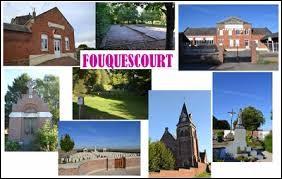 Commune des Hauts-de-France, dans l'arrondissement de Péronne, Fouquescourt se situe dans le département ...