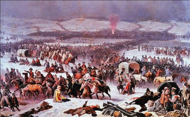 Quelle est l'issue de la bataille de la Bérezina livrée du 26 au 29 novembre 1812 ?