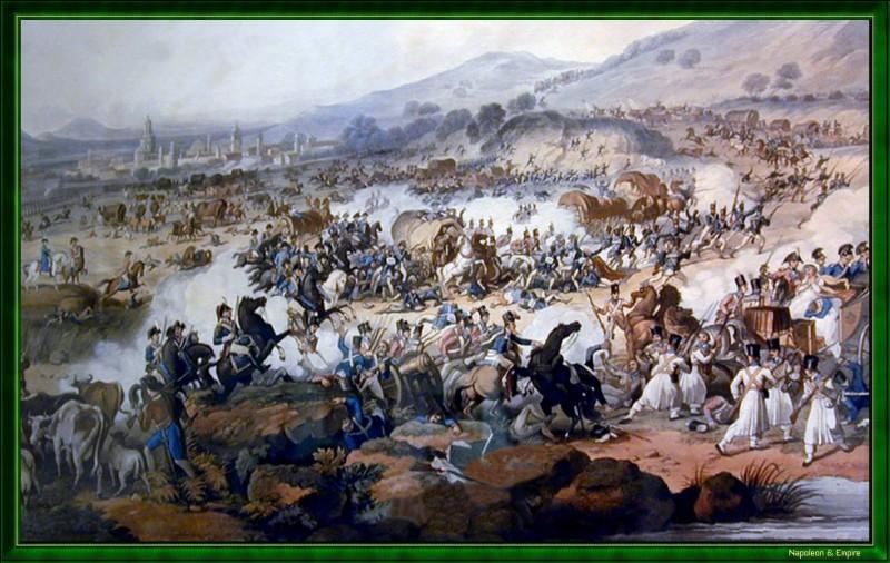 Quelle est l'issue de la bataille de Vitoria livrée le 21 juin 1813 ?