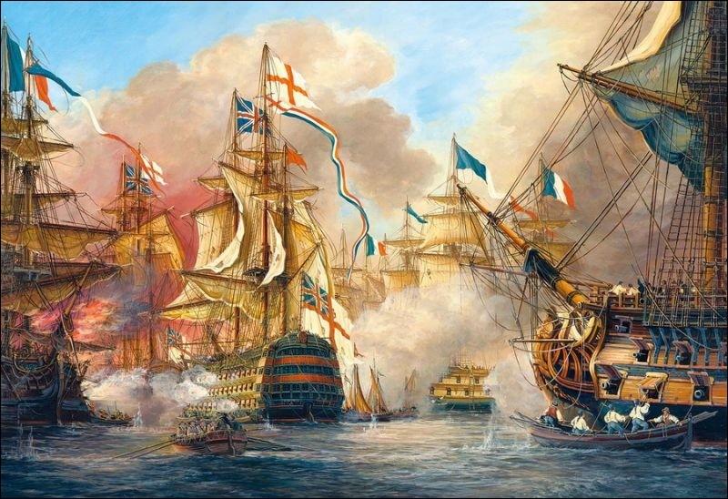Quelle est l'issue de la bataille navale de Trafalgar livrée le 21 octobre 1805 ?