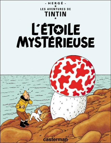 """De quel mystérieux métal se compose la météorite dans """"L'Étoile mystérieuse"""" ?"""