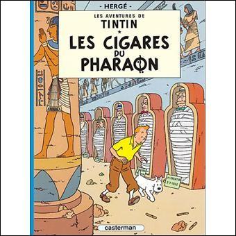 """Le Maharaja de quelle province, Tintin rencontre-t-il dans """"Les Cigares du Pharaon"""" ?"""