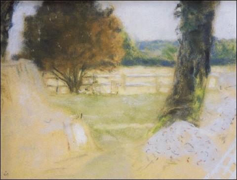 """Qui est le peintre de """"La Barrière blanche aux Clayes"""" ?"""