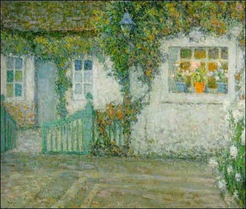 """À quel artiste appartient """"La Barrière verte"""" ?"""