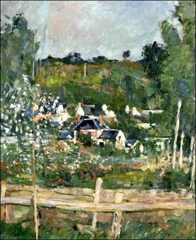 """À qui est ce tableau intitulé """"Vue d'Auvers-sur-Oise, la barrière"""" ?"""
