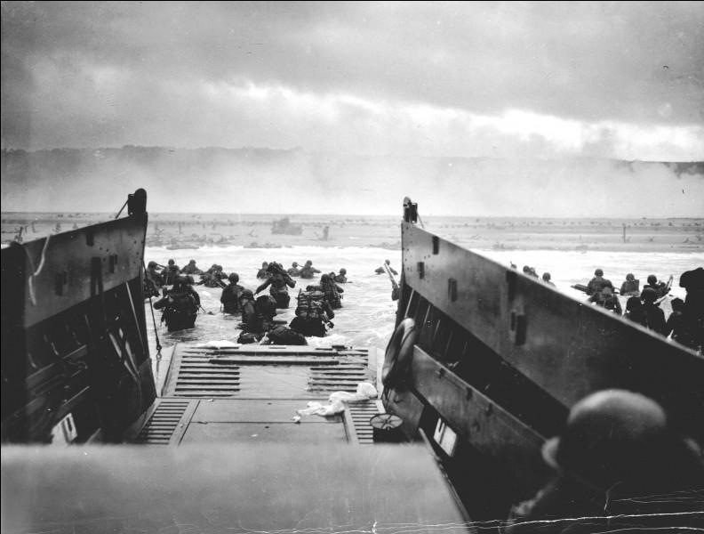 Quand s'est déroulé le débarquement de Normandie ?
