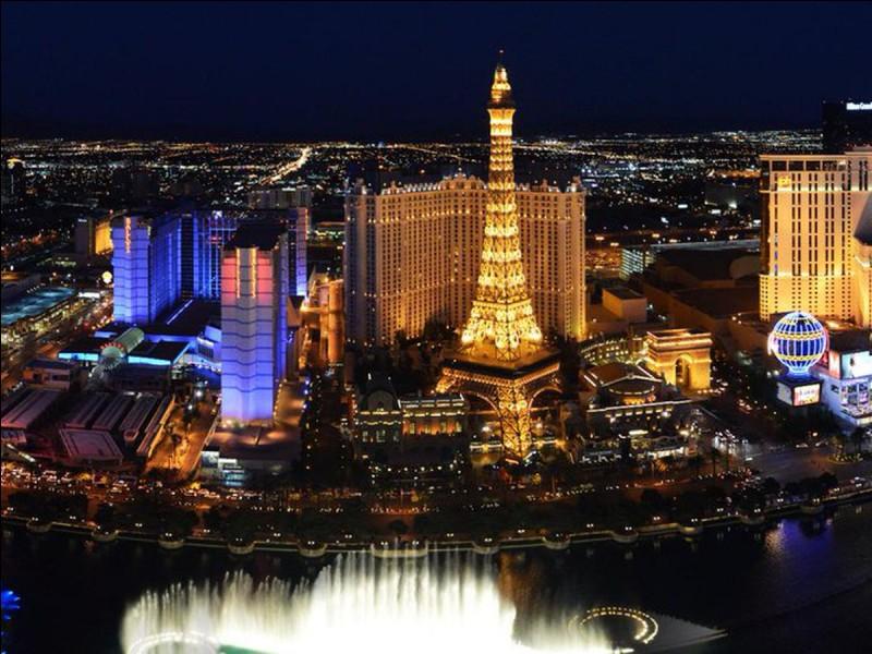 Dans quel état américain la ville de Las Vegas est-elle située ?