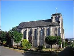 Vous avez sur cette image l'église Saint-Germain de Tessé-Foulay. Village normand, il se situe dans le département ...