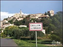 Nous sommes dans le Vaucluse à l'entrée de Crillon-le-Brave. C'est un village situé en région ...