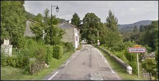 Commune Gardoise, Saumane se situe en région ...