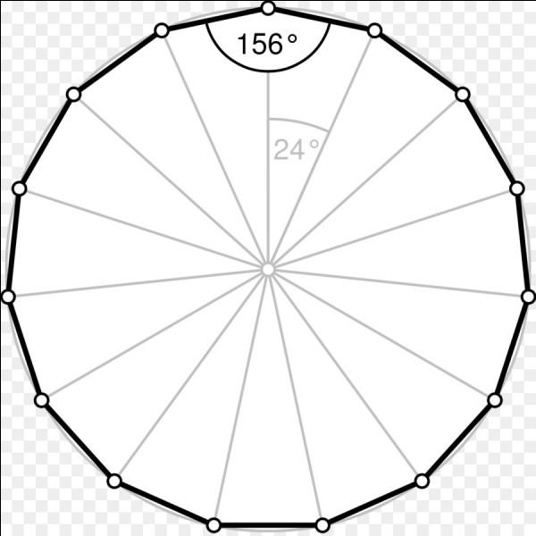 Combien de côtés possède un pentadécagone ?