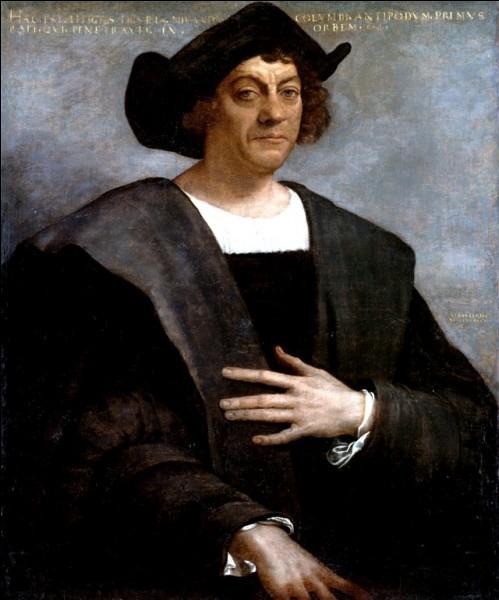 En quelle année Christophe Colomb a-t-il navigué sur l'océan bleu ?