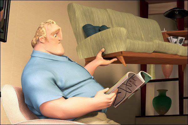 Cet homme lit un magazine, dans quel film ?