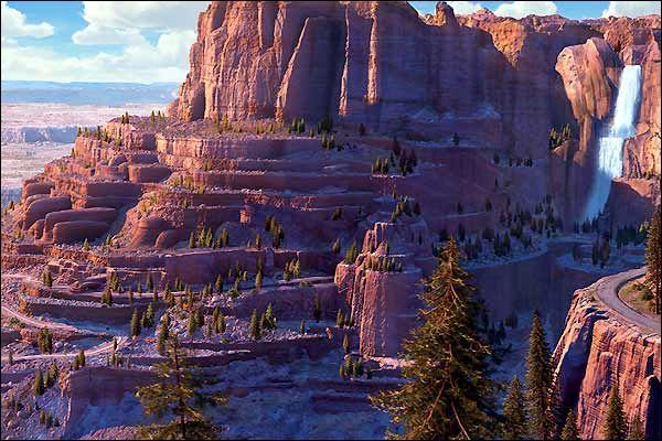 Dans quel Pixar voit-on ce superbe paysage ?