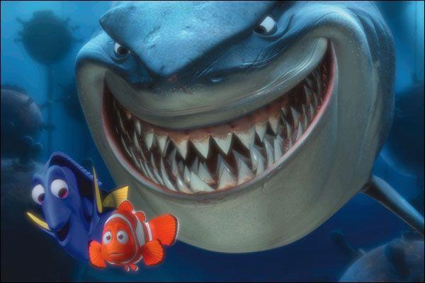 Il a l'air terrible ce requin, dans quel Pixar est-il ?