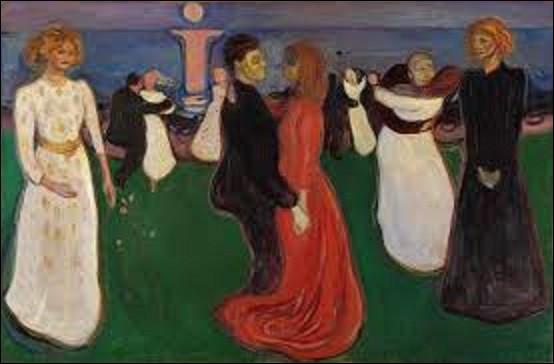 D'une hauteur de 1,25 m de haut sur 1,91 m de long, ''La Danse de la vie'' est une huile sur toile exécutée par un expressionniste. Peint entre 1899 et 1900, à quel maître de ce mouvement doit-on ce tableau ?