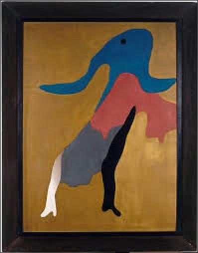 Huile sur bois découpé et collé représentant une danseuse, ''Tänzerin'' est un tableau exécuté par un dadaïste en 1925. De qui est ce tableau conservé au musée national d'Art moderne à Paris ?
