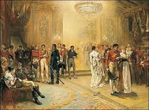 Le 15 juin 1815 à Bruxelles est organisé par la duchesse de Richmond, un bal qui porte son nom. Considéré à l'époque comme ''le bal le plus remarquable de l'histoire'' par la comtesse de Longford, il se déroula la veille de la bataille des Quatre-Bras entre Bonaparte et une armée de coalition contre l'empereur. Quel peintre a reconstitué cette soirée en 1870 ?