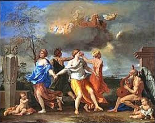 Tableau réalisé entre 1634 et 1636 par un peintre membre du classicisme, ''La Danse de la vie humaine'' est une toile faisant référence à la mythologie. Quel artiste est l'auteur de cette huile conservée aujourd'hui au musée londonien Wallace Collection ?