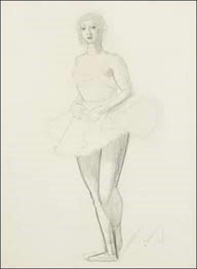 A quel fauviste et réaliste doit-on ce tableau intitulé ''Danseuse de ballet'' réalisé en 1920 ?