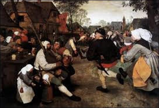 Représentant une fête se déroulant dans la rue d'un village, ''La Danse des paysans'' est une huile sur panneau de bois réalisée vers 1568. Pouvez-vous citer le nom de ce peintre de la période renaissance flamande qui a reconstitué cette scène ?