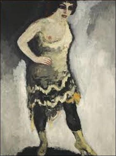 Tableau réalisé entre 1907 et 1908, ''Nini, danseuse aux Folies-Bergères'' appelé aussi ''Saltimbanque au sein nu'' est une huile représentant une danseuse de ce théâtre. Toile conservée au musée national d'Art moderne de Paris, quel fauviste a immortalisé cette jeune femme ?