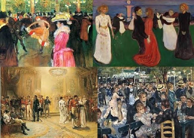 La danse et les bals en peinture