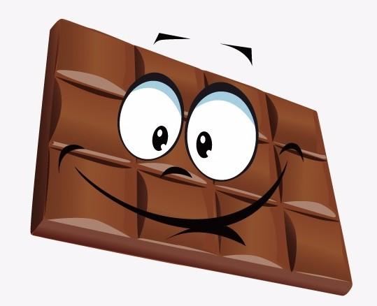 Logos des marques de chocolat