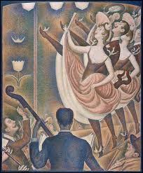 "Qui a peint ""Le Chahut"" ?"
