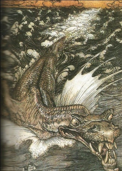 Quel est ce monstre de la mythologie phénicienne, surtout connu par la bible, où, dans le livre de Job, il est décrit de telle sorte qu'on l'identifie au crocodile ?