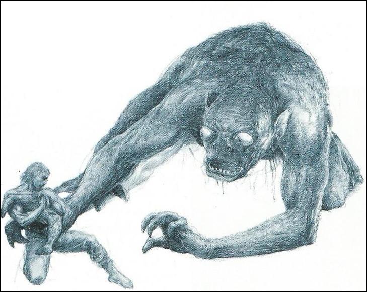 Qui est ce monstre dévoreur d'hommes de la mythologie nordique ?
